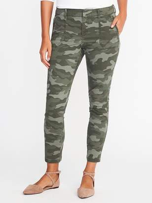Mid-Rise Utility Pixie Chinos for Women $39.99 thestylecure.com