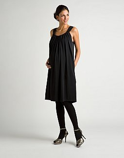 DKNY Gathered Tank Dress