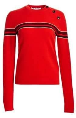 Proenza Schouler PSWL Merino Wool& Cashmere Stripe Sweater