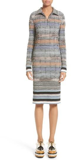 Women's Missoni Tartan Plaid Knit Dress