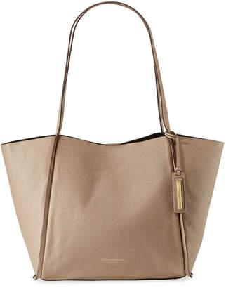 Donna Karan Alan Large Pebble Leather Shoulder Tote Bag
