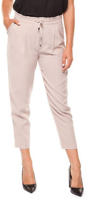 Dex Frill Tapered Crop Pants