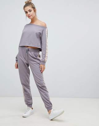 South Beach Sports Stripe Jogger