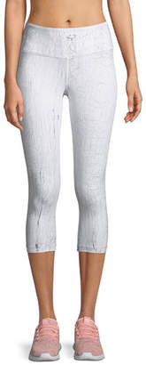 Vimmia Crackle High-Waist Capri Leggings