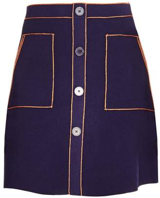da69861026 Navy Blue A-line Skirt - ShopStyle UK
