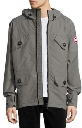 Canada Goose Redstone Wind-Resistant Jacket, Pewter