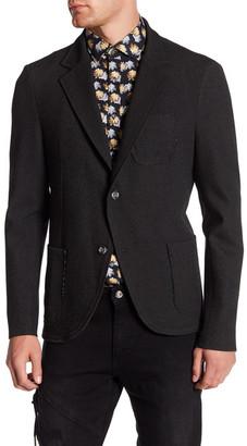 Ron Tomson Slim Fit Lightweight Blazer Cut Cardigan $225 thestylecure.com