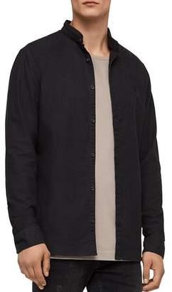 AllSaints Augusta Slim Fit Button-Down Shirt