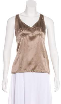 Brunello Cucinelli Silk Camisole Top