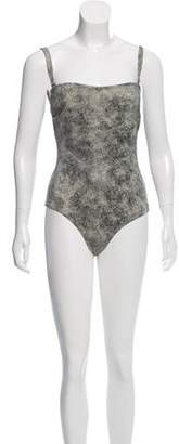 Prism Printed One-Piece Swimsuit w/ Tags