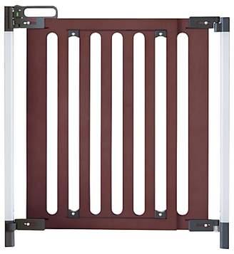 Fred Screw Fit Dark Wood Safety Gate