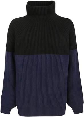 Rochas Color Block Sweater