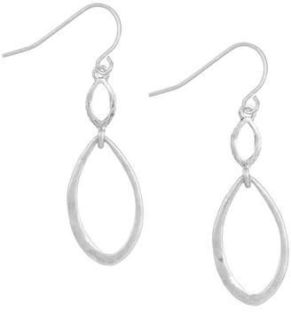 The Sak Open Double Drop Earrings
