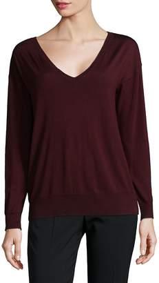 Ralph Lauren Women's Classic V-Neck Sweater