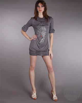 Kimikal Crystal Tiger Dress