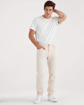7 For All Mankind Total Twill Adrien Slim Tapered with Cean Pocket in Dusty Pink