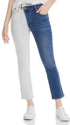 Pistola Denim Two-Tone Asymmetric Jeans - 100% Exclusive