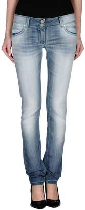 Manila Grace DENIM Denim pants - Item 42421186LA