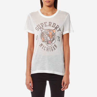 Superdry Women's Olivia Collegiate T-Shirt