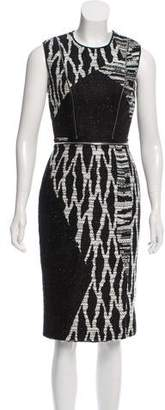 Yigal Azrouel Zip-Accented Midi Dress