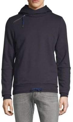 Scotch & Soda Classic Long-Sleeve Hooded Sweatshirt