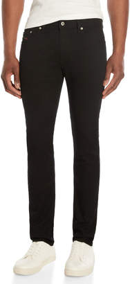 Diesel Black Denim Thavar-XP Slim Jeans
