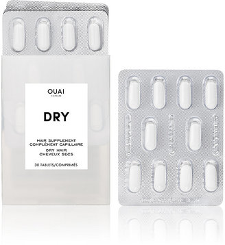 OUAI Haircare Women's Dry Supplements $28 thestylecure.com