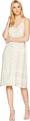 Lucky Brand Women's Button UP Knit Dress in