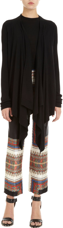 Givenchy Open Front Sweater