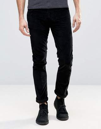 Nudie Jeans Grim Tim Black Cord