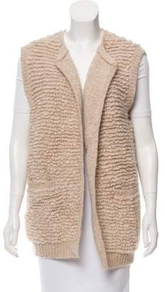 White + Warren Bouclé Knit Vest