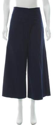 Tibi Cropped Wide-Leg Pants