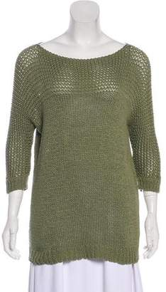 Theory Malca Open Knit Sweater