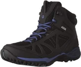 Merrell Women's Siren Sport Q2 Mid Waterproof Hiking Shoes,Black/Liberty
