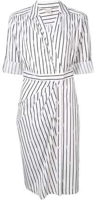Pinko striped shirt dress