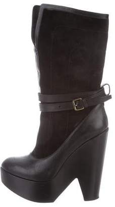 Derek Lam Mid-Calf Platform Boots