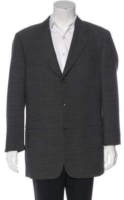 Calvin Klein Collection Herringbone Wool Blazer