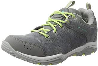 Columbia Women's's Fire Venture Waterproof Multisport Outdoor Shoes Ti Grey Steel/Aquarium, 42 EU