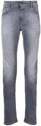 Closed slim-fit stonewashed jeans