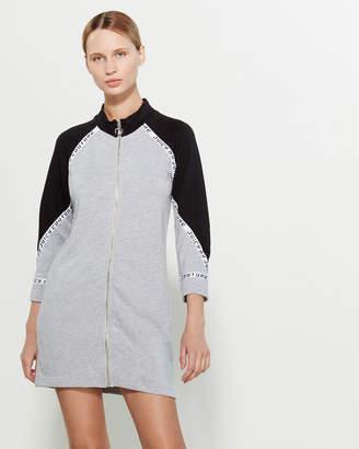 Juicy Couture Raglan Zip Sweatshirt Dress