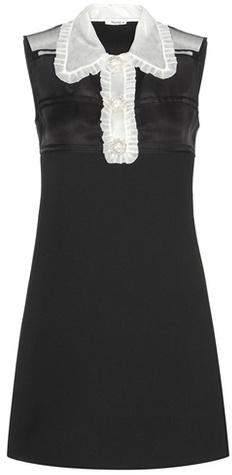 Miu MiuMiu Miu Wool-blend Dress