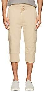 N. Max 'n Chester MAX 'N CHESTER MEN'S CLARENCE COTTON TERRY CARGO PANTS-BEIGE, TAN SIZE 32