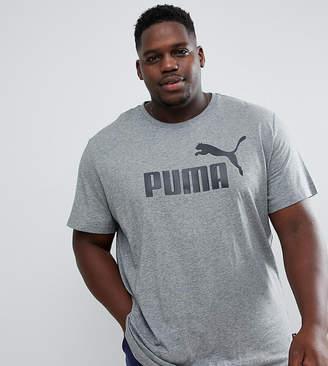 Puma PLUS Essentials t-shirt in gray 85174003
