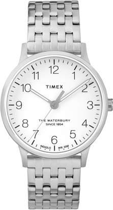 Timex R) Waterbury Bracelet Watch, 36mm