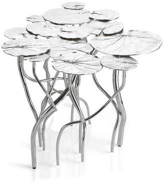 Michael Aram 15-Leaf Lily Pad Coffee Table