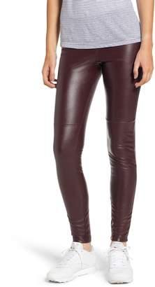 Hue Faux Leather Leggings