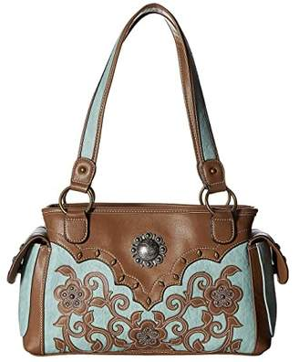 M&F Western Calico Kate Conceal Carry Satchel