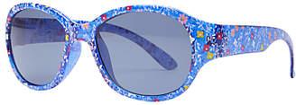 John Lewis & Partners Children's Floral Floral Sunglasses, Navy