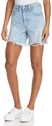 Levi's Indie Distressed Denim Shorts in Clean Break