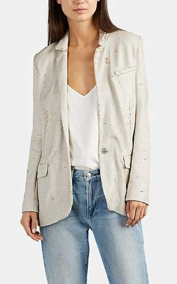 IRO Women's Portia Sequin Jacket - Gold Size 34 Fr